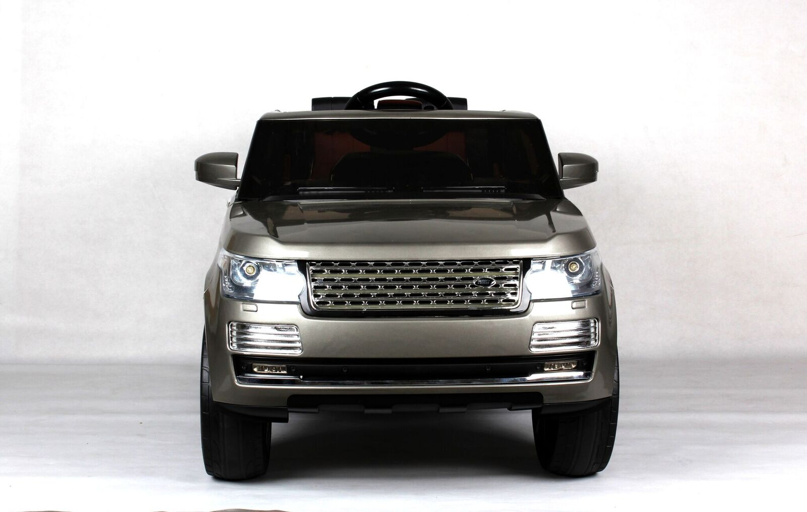 Электромобиль Range Rover Vogue серый