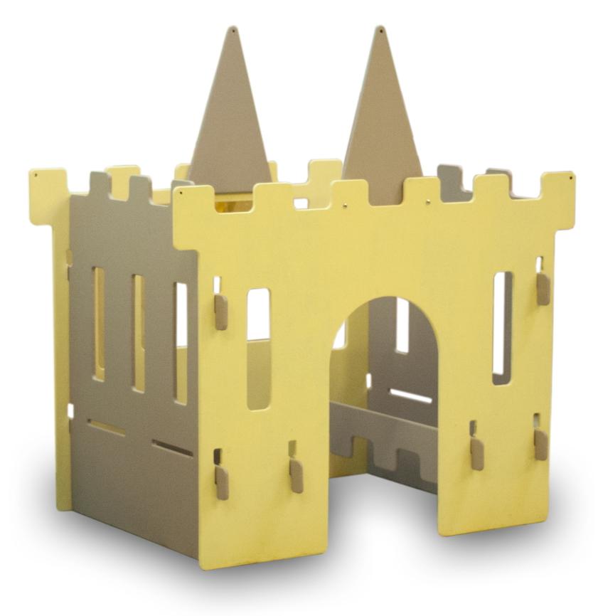 Как сделать кровать как замок