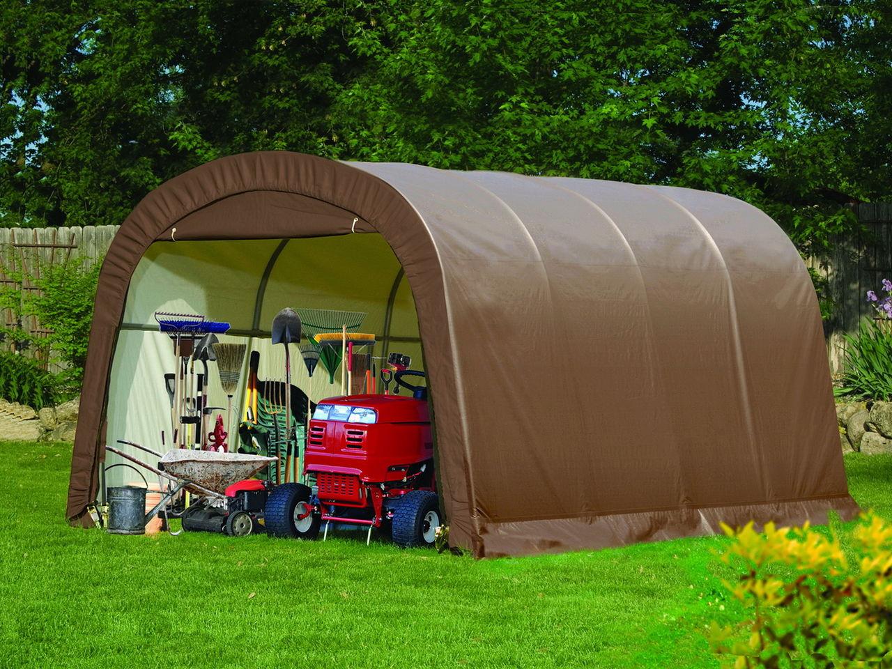 сборный гараж для дачи для
