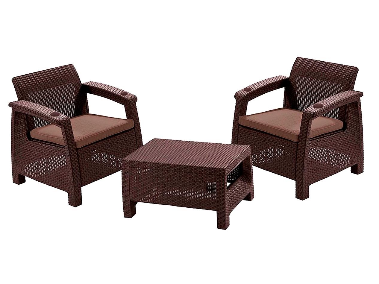 Комплект yalta balcony set - yalta - мебель из ротанга, набо.
