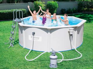 Стальной бассейн Hydrium Pool Set 56384 BW (460х120см)