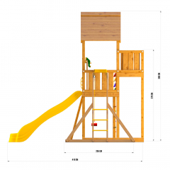 JP10 Jungle Palace + Рукоход с гнездом