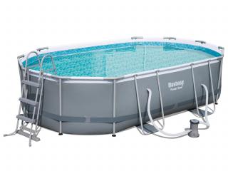 Каркасный овальный бассейн 56448 BW (488х305х107см)