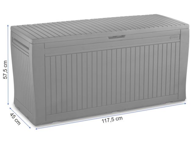 Пластиковый ящик для хранения Comfy размеры