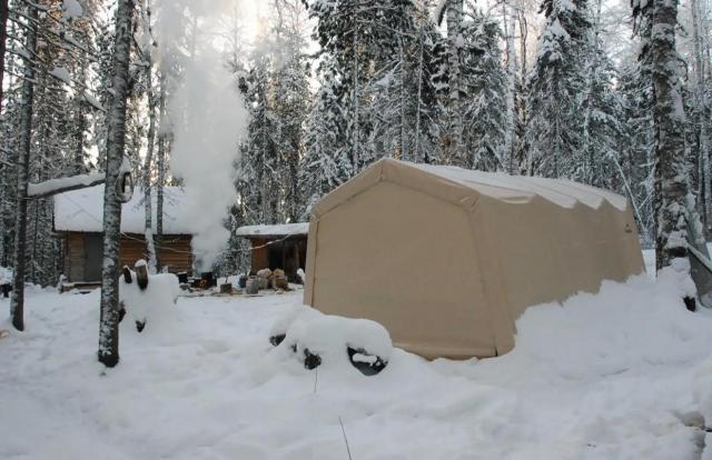 Тентовый гараж (укрытие) 3,0x6,1x2,4 м (ShelterLogic)