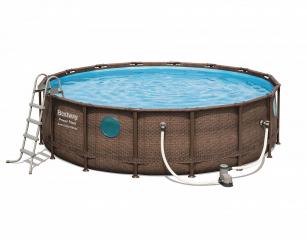Каркасный бассейн Ротанг 56725 BW (488х122см)