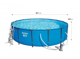 Каркасный бассейн 56488 BW (457х107см)